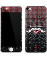 Atlanta Hawks Pixels Apple iPod Skin