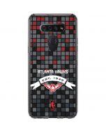 Atlanta Hawks Pixels LG K51/Q51 Clear Case