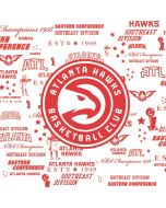 Atlanta Hawks Blast Apple iPad Skin