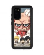 Attack On Titan Clouds Galaxy S20 Waterproof Case