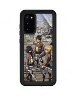 Attack On Titan Destroyed Galaxy S20 Waterproof Case
