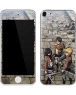 Attack On Titan Destroyed Apple iPod Skin