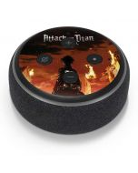 Attack On Titan Fire Amazon Echo Dot Skin