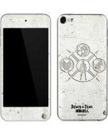 Attack On Titan Wall Apple iPod Skin