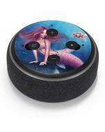 Aurelia Mermaid with Fish Amazon Echo Dot Skin