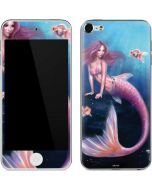 Aurelia Mermaid with Fish Apple iPod Skin