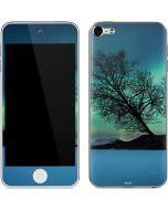 Aurora Borealis over Sandvannet Lake Apple iPod Skin