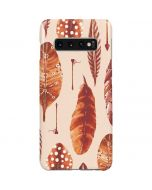 Autumn Feathers Galaxy S10 Plus Lite Case