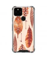 Autumn Feathers Google Pixel 5 Clear Case