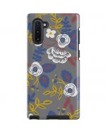 Autumn Grey Floral Galaxy Note 10 Pro Case