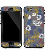 Autumn Grey Floral LifeProof Nuud iPhone Skin