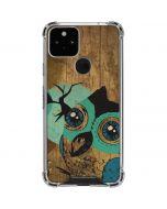 Autumn Owl Google Pixel 5 Clear Case