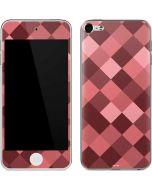 Autumn Red Geometric Apple iPod Skin