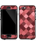Autumn Red Geometric LifeProof Nuud iPhone Skin