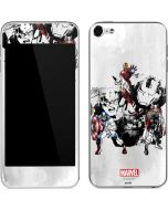 Avengers Action Sketch Apple iPod Skin