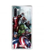 Avengers Assemble Galaxy Note 10 Clear Case