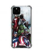 Avengers Assemble Google Pixel 5 Clear Case
