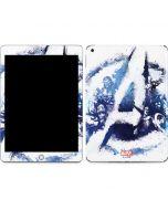 Avengers Blue Logo Apple iPad Skin