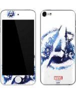 Avengers Blue Logo Apple iPod Skin