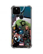Avengers Google Pixel 5 Clear Case