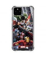 Avengers Team Power Up Google Pixel 5 Clear Case