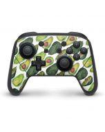 Avocados Nintendo Switch Pro Controller Skin