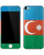 Azerbaijan Flag Distressed Apple iPod Skin