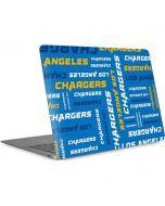 Los Angeles Chargers - Blast Apple MacBook Air Skin