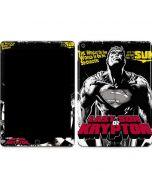 Superman Last Son of Krypton Apple iPad Air Skin