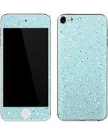 Mint Speckled Apple iPod Skin