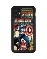 Captain America Big Premier Issue iPhone 11 Waterproof Case