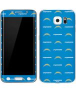Los Angeles Chargers Blitz Series Galaxy S6 Edge Skin