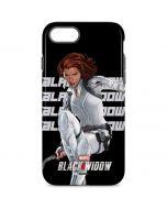 Black Widow Bold iPhone 8 Pro Case