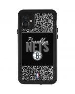 Brooklyn Nets Elephant Print iPhone 11 Waterproof Case