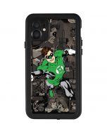 Green Lantern Mixed Media iPhone 11 Waterproof Case