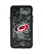 Carolina Hurricanes Camo iPhone 11 Waterproof Case