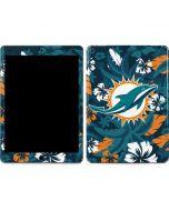Miami Dolphins Tropical Print Apple iPad Air Skin