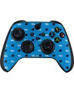Carolina Panthers Blitz Series Xbox Series X Controller Skin