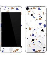 White Terrazzo Apple iPod Skin