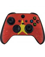 Vietnam Flag Distressed Xbox Series X Controller Skin