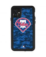 Philadelphia Phillies Digi Camo iPhone 11 Waterproof Case