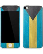 Bahamas Flag Distressed Apple iPod Skin