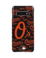 Baltimore Orioles - Cap Logo Blast Galaxy S10 Plus Lite Case