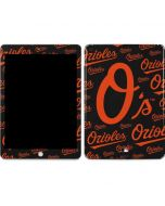 Baltimore Orioles - Cap Logo Blast Apple iPad Skin