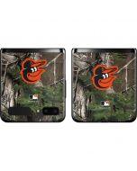 Baltimore Orioles Realtree Xtra Green Camo Galaxy Z Flip Skin