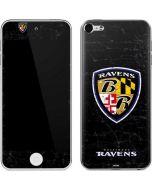 Baltimore Ravens - Alternate Distressed Apple iPod Skin