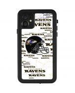 Baltimore Ravens - Blast iPhone 11 Waterproof Case