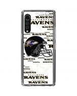 Baltimore Ravens - Blast LG Velvet Clear Case
