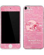 Baltimore Ravens - Blast Pink Apple iPod Skin