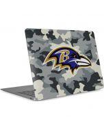 Baltimore Ravens Camo Apple MacBook Air Skin